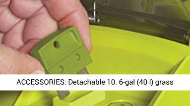 Sun Joe MJ401C-PRO 14-Inch 28-Volt Cordless Push Lawn Mower- w/Rear Discharge Chute