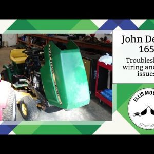 John Deere 165 troubleshooting wiring and fuel system, will it start and run? (part 1)