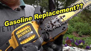 As Good As Gas? | DeWalt 16 inch 60V Cordless Chainsaw DCCS670