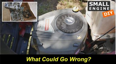 Briggs & Stratton Platinum 19hp - What Could Go Wrong?