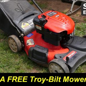 Free Troy-Bilt Lawn Mower - Will it Run