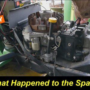 John Deere 170 with Kawasaki FC420V Has No Spark