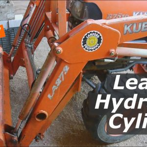 Kubota Hydraulic Cylinder Leaks, Needs New Seals