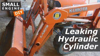 Kubota Hydraulic Cylinder Leaks, Needs New Seals