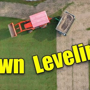 Leveling Bumpy Lawn - How to Level Lawns