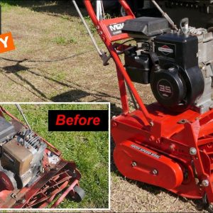 Mclane Reel Mower Restoration, Will it Run? Part 3