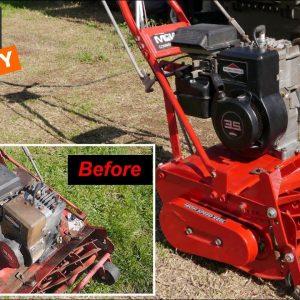 Mclane Reel Mower Restoration, Will it Run? Part 3