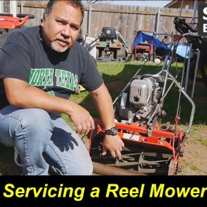 Replacing a Chain and Lapping the Blades on a Reel Mower