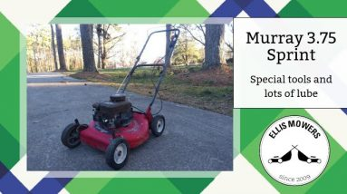 """Using some special tools and a lot of lube on a Murray 20"""" with stuck intake valve"""