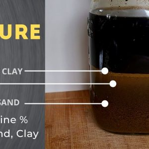 Testing Soil Texture - Mason Jar Soil Test