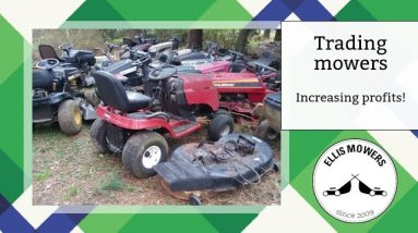 The art of trading: Turning 1 riding mower into 7 and tripling profits!
