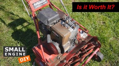 Working on a Rusted Mclane Reel Mower - Part 1 Disassembly and Paint