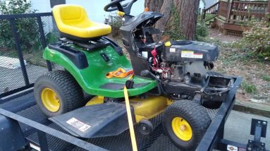 You decide!  What engine do I put on this $100 John Deere D110?