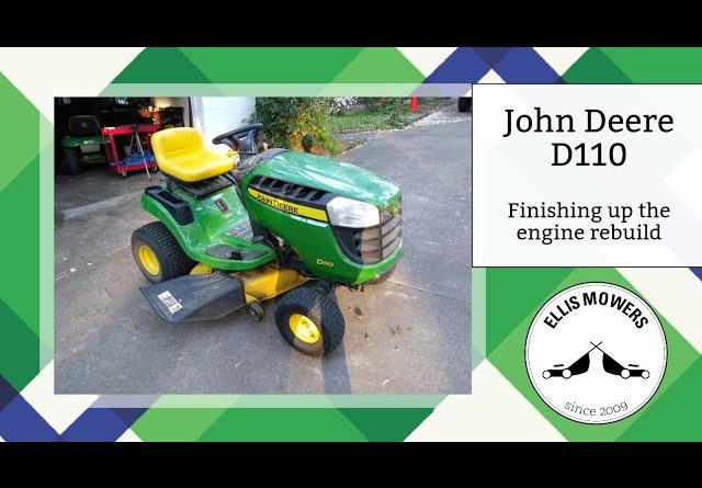 John Deere D110 Finishing up the unnecessary engine rebuild and testing out (part 2)