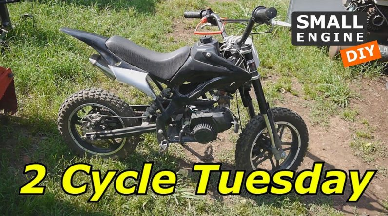 2 Cycle Mini Dirt Bike will not Turn Over or Start