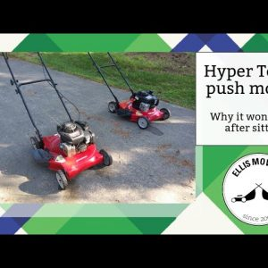Why your Hyper Tough/ Murray/ Briggs and Stratton OHV push mower won't start after Winter (easy fix)