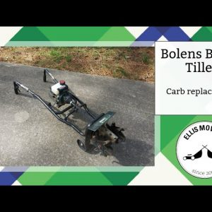 Bolens BL410 2 cycle tiller carb replacement: Easy as 1-2-3 (or 3-2-1?)