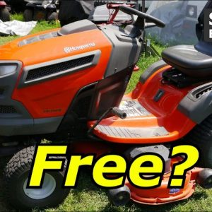 Alright Alright, A Free Husqvarna Lawn Tractor,  What could be wrong with it?