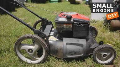 Let's See if this Free Craftsman Lawn Mower still runs