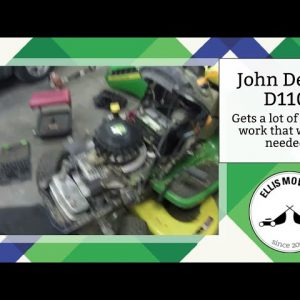 John Deere D110 you voted on doesn't get new engine but lots of engine work that wasn't needed (pt1)
