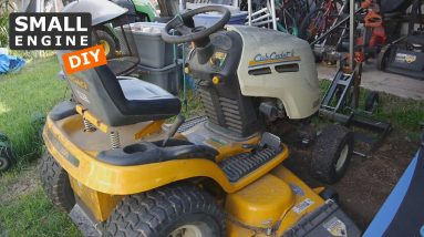 Cub Cadet lawn tractor Burning Oil and Running Rough - Lets Troubleshoot It