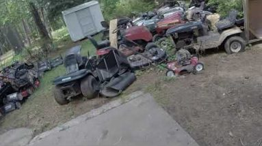 How much have I sold so far in 2021 and what's next to fix?  Long overdue mower update!