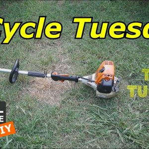 2 Cycle Tuesday - Stihl Gas Trimmer and don't forget Taco Tuesday