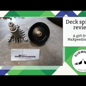 MaXpeedingrods sent me some mower deck spindles.  Let's unbox and review them!