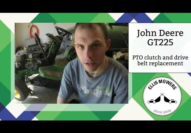 John Deere GT225 with a sheared crankshaft bolt, missing PTO clutch & worn drive belt: Let's fix it!