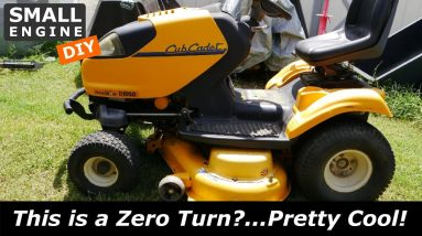 Cub Cadet i1050 Zero Turn outside for years and would not start