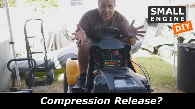 Kohler Courage 25HP hard to turn over at the Compression Stroke