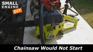 Let's find out Why this Poulan Chainsaw Would Not Start