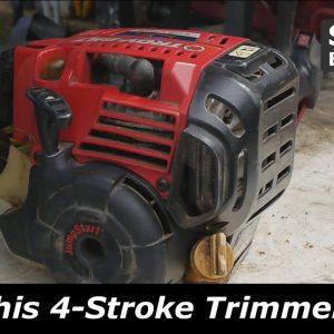 Troy-Bilt 4 Stroke Trimmer will not start