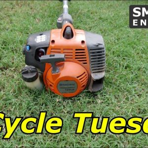 2 Cycle Tuesday - Husqvarna 128LD Trimmer found on the street