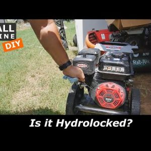 Could this Pressure Washer be Hydrolocked?