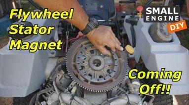 Exmark Zero Turn Flywheel Magnet Coming Off