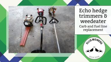 Echo hedge HC1500 hedge trimmers and SRM2100 weedeater carburetor replacements