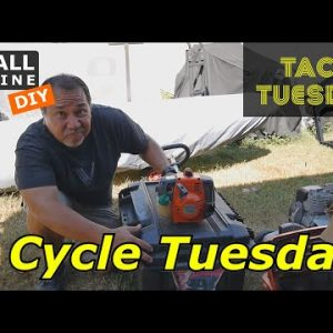 2 Cycle Tuesday - Husqvarna Trimmer would not start, plus a bonus Chainsaw and Taco Tuesday
