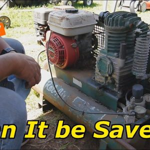 A well used Rol-Air Gas Compressor would not Start.  Is it too far gone?