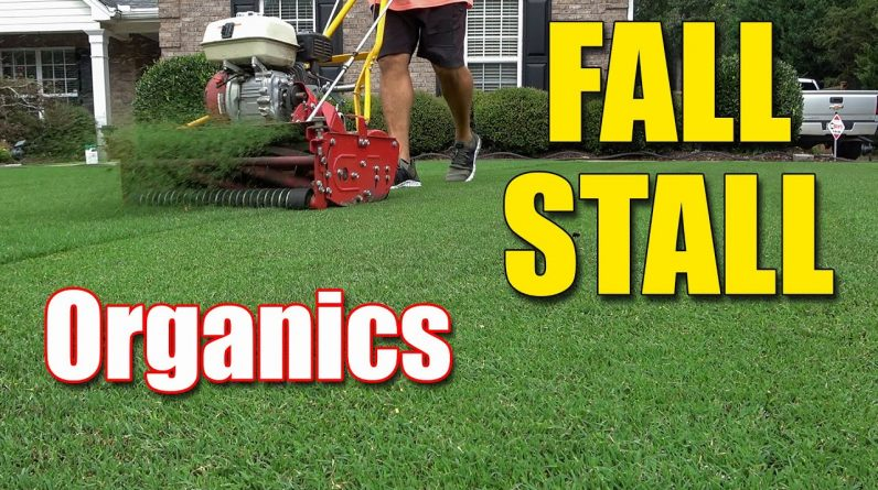 Fall Organic Lawn Products - Last Chance to Apply