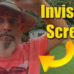 Invisible Window and Porch Screening