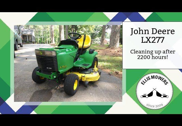 John Deere LX277 still runs great after 2200+ hours!