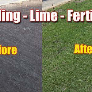 Lawn Lime PH - Seeding - Fall Fertilizer