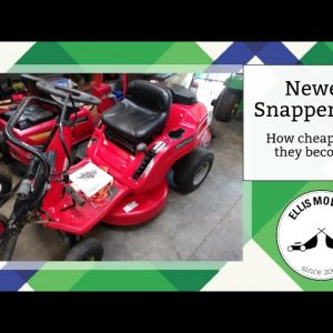 Newer Snapper RER carb clean: How cheap have they become?