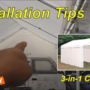Installing a ShelterLogic Max AP Canopy 3-in-1, Can One Person set it up?